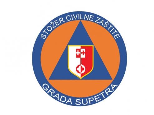 Logo stožera civilne zaštite Grada Supetra