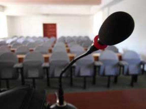 Ilustrativna fotografija dvorane za sastanke
