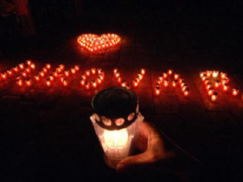 Ilustrativna fotografija spomen svijeće za Vukovar