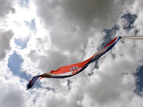Ilustrativna fotografija hrvatske zastave