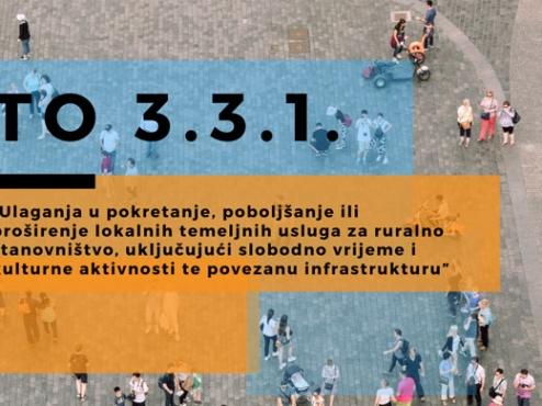 Ilustrativni banner mjere 3.1.1. kojom se financira izgradnja doma