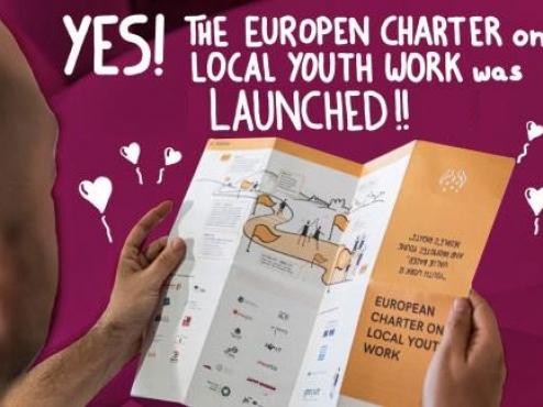 Ilustrativna fotografija povelje o lokalnom radu s mladima