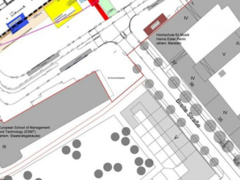 Ilustracija prostornog plana uređenja zone Žedno-drage